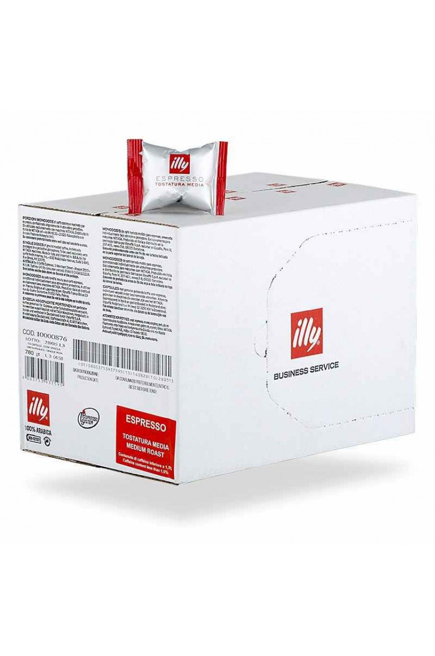 Illy Medium Roast (Espresso Tostatura Media) кофе в капсулах