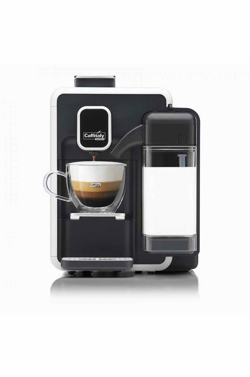 Caffitaly S22 Bianca V2 white-black