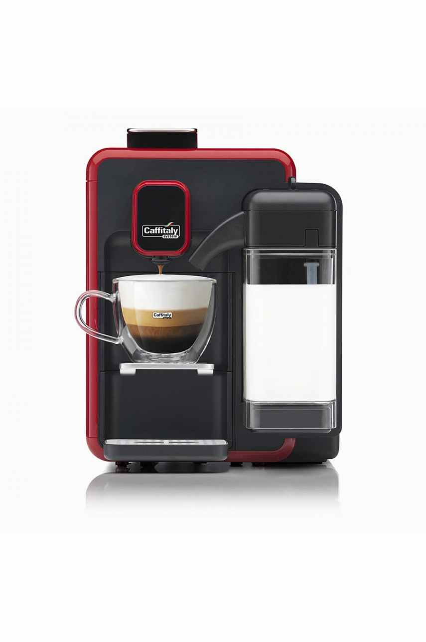 Caffitaly S22 Bianca V2 red-black