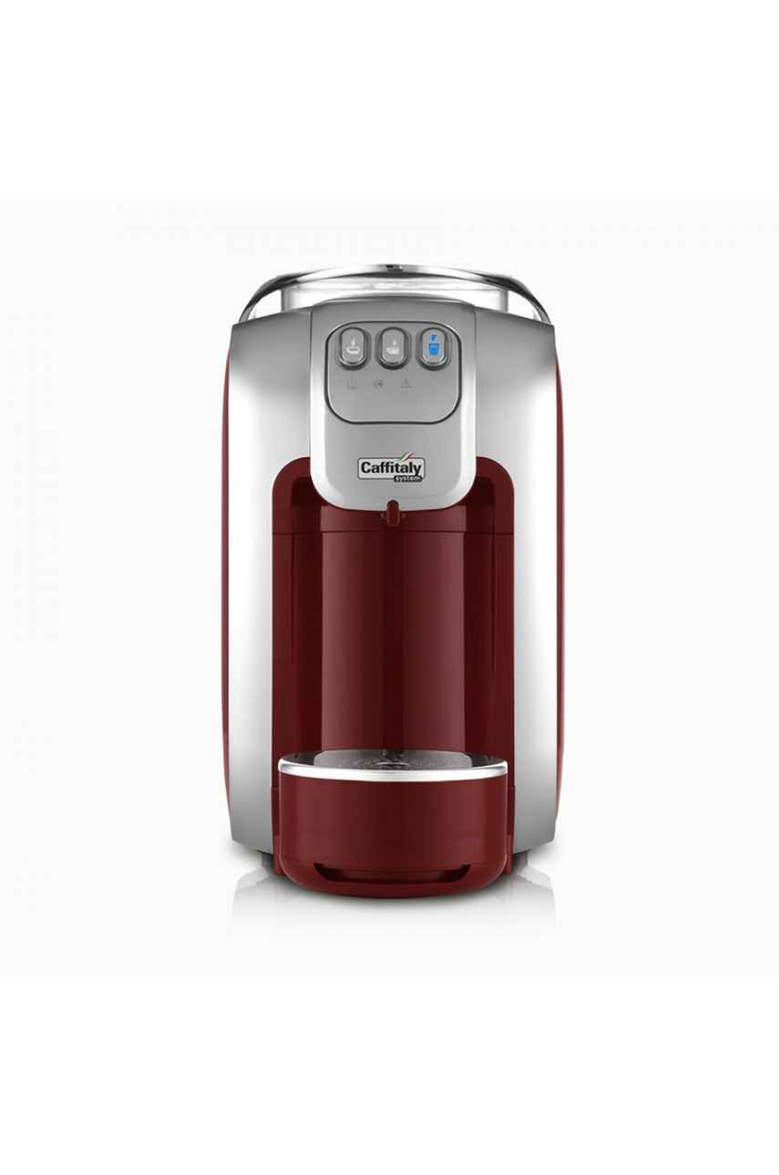 Caffitaly S07 Murex red-silver